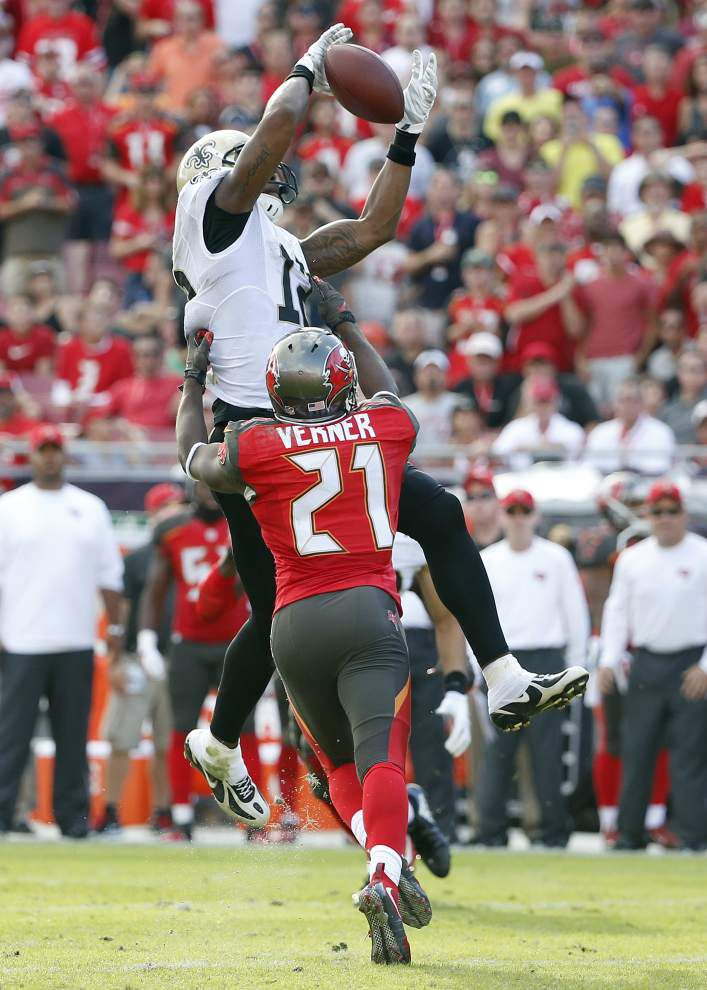 In new role this season, Saints wide receiver Marques Colston consistent, quiet about his accomplishments _lowres