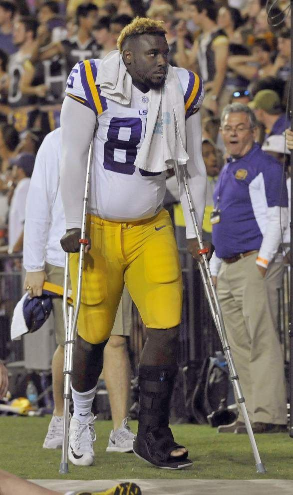 'We expect that from him': LSU's Lewis Neal among the nation's sack leaders _lowres