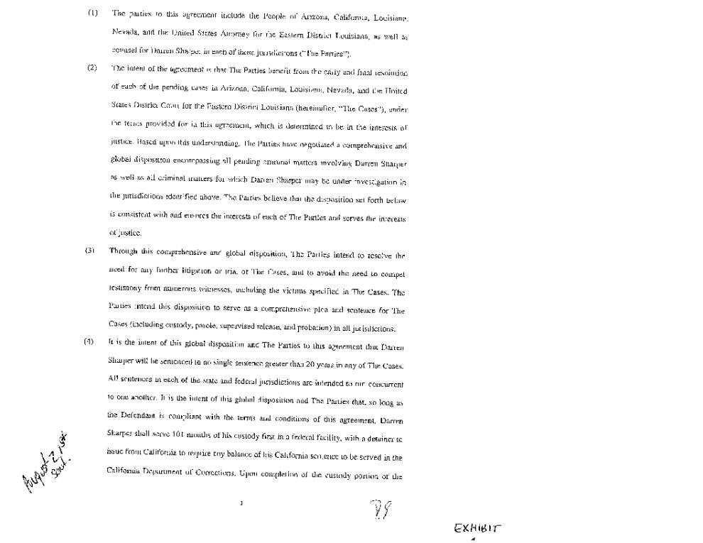 Darren Sharper admits raping 3 women in New Orleans, in final plea of global deal _lowres