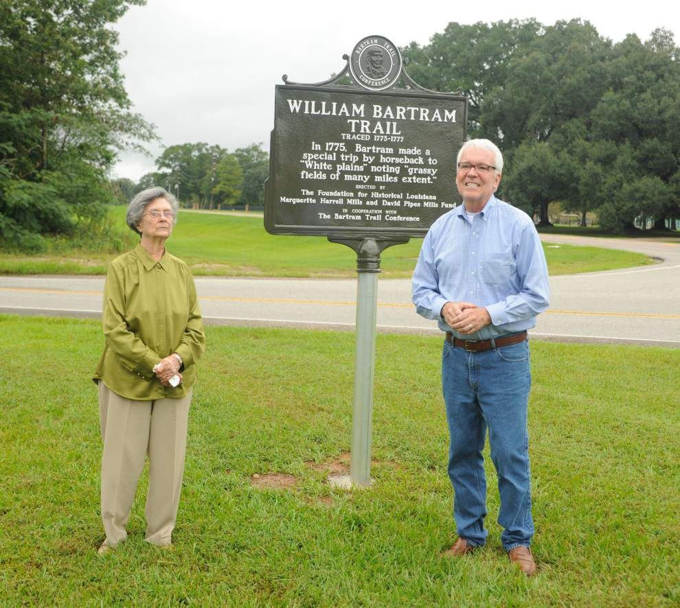 Bartram Trail Marker dedicated in Plains _lowres