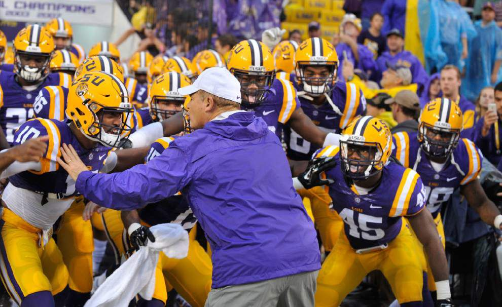 LSU could top the list when the College Football Playoff rankings debut Tuesday; here's a quick primer _lowres