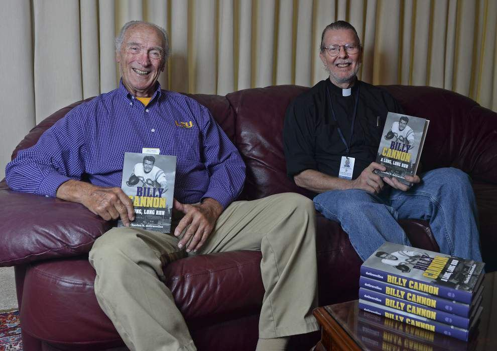 LSU icon Billy Cannon says a lot of what you think you know about him is wrong; new book bares all _lowres