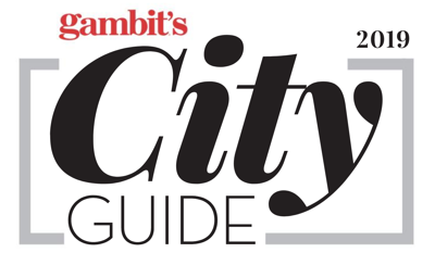 Gambit City Guide 2019 art