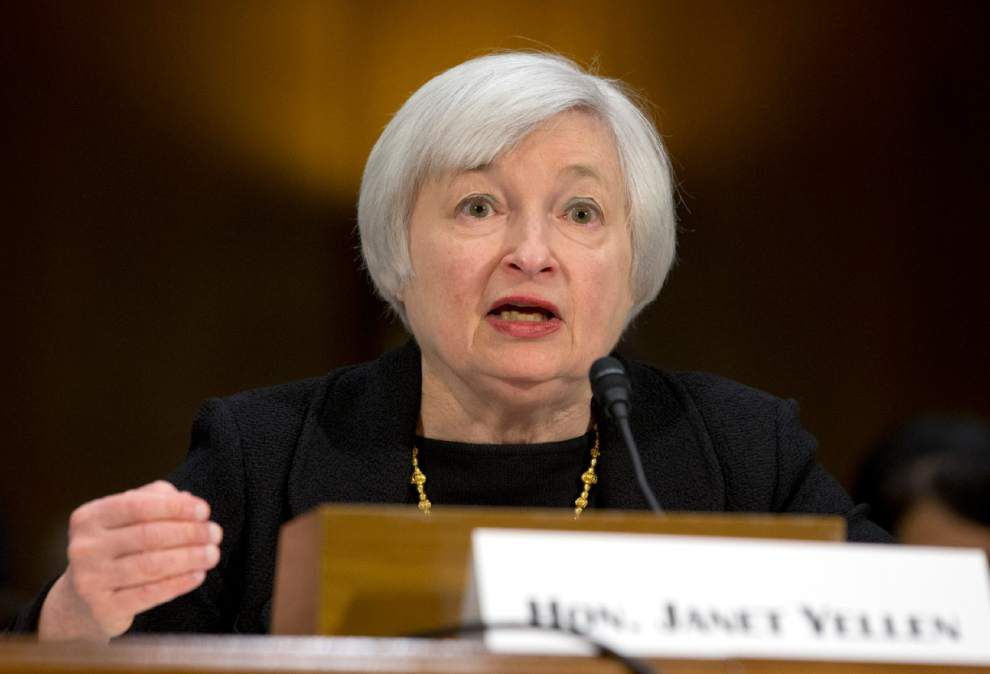 Yellen: Continued pullback in Fed stimulus likely _lowres