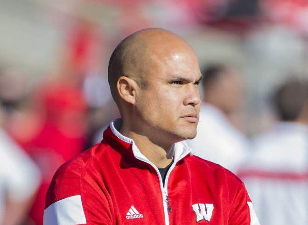 Wisconsin's Dave Aranda named LSU's new defensive coordinator _lowres