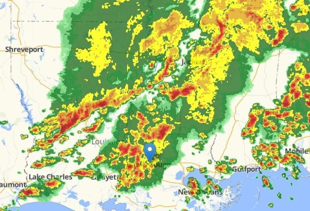 Radar, updates: Severe weather blowing through South Louisiana; warnings issued _lowres