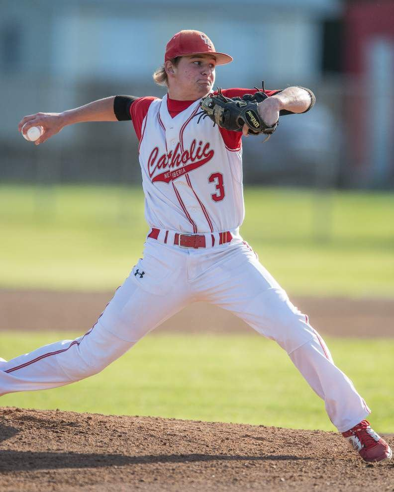 Catholic-New Iberia pitcher J.T. Migues commits to Louisiana Tech _lowres