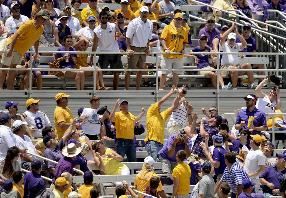 Photos: Elation erupts after last out; Tigers champions of Baton Rouge regional; advance to Super Regionals _lowres