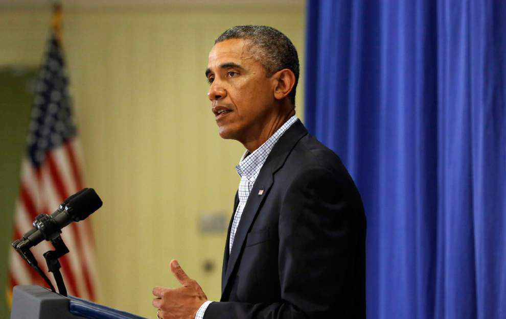 Obama: No Iraq rescue; further airdrops unlikely _lowres