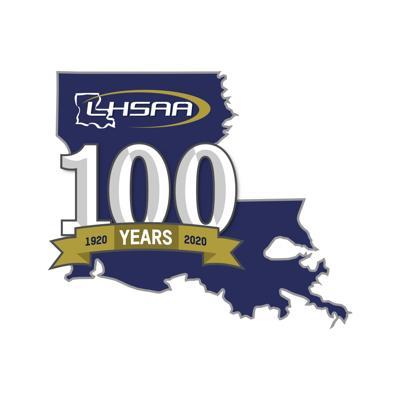 lhsaa 100-year logo