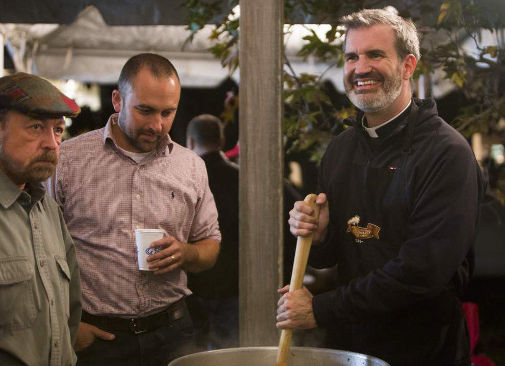 Acadiana priests square off in 'Collarnary Cook Off' fundraiser to decide bragging rights for best gumbo _lowres
