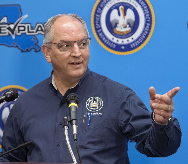 Gov. John Bel Edwards thankful Hurricane Sally moved east, 'The facts changed'