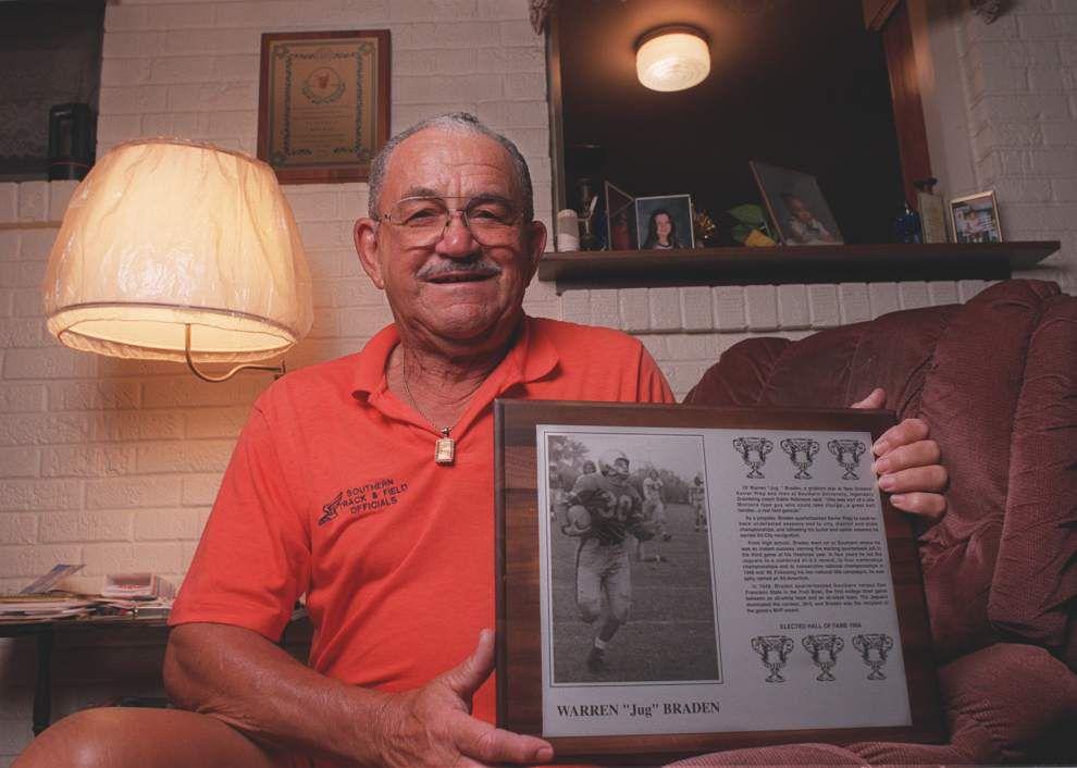 Former Southern football great Warren Braden dies _lowres