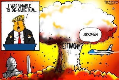 Walt Handelsman: Unable to De-Nuke