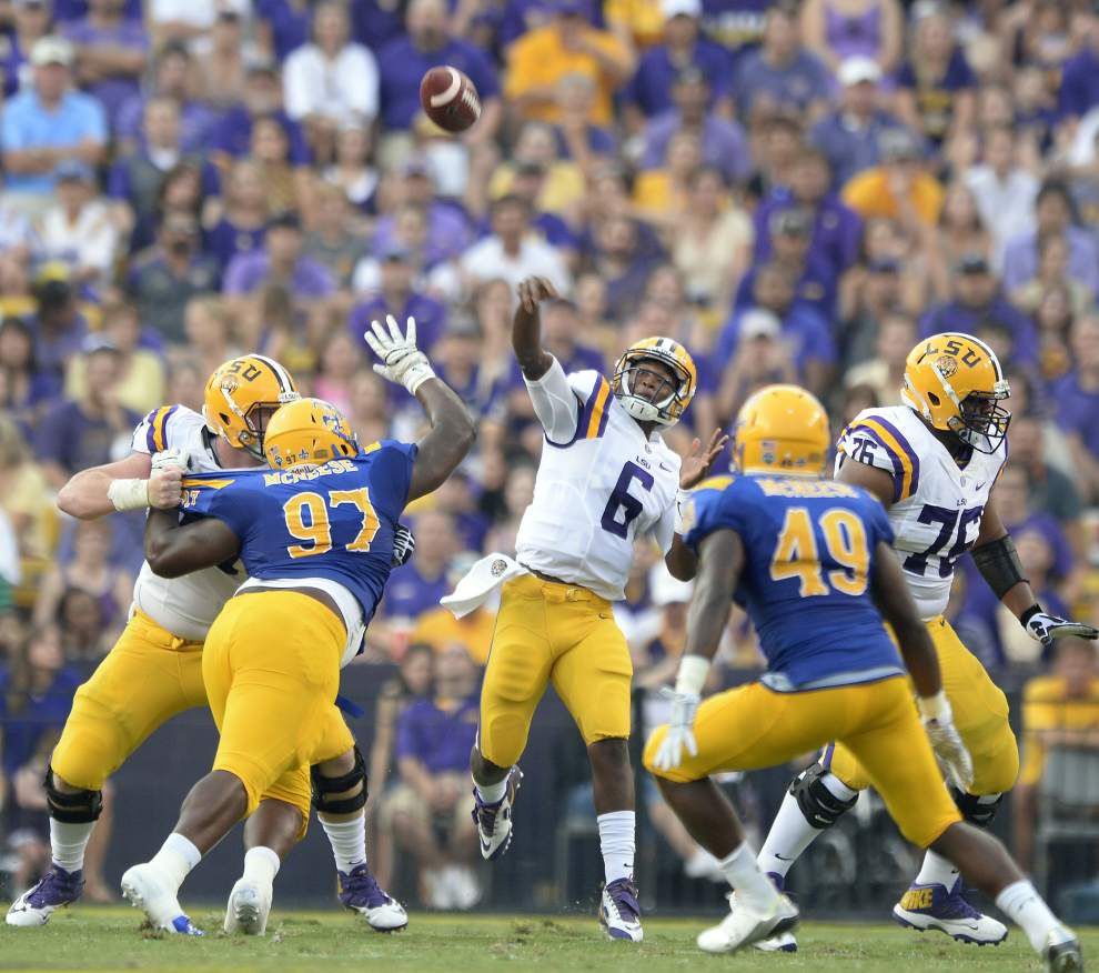 Game Day: LSU vs. Mississippi State, QB Brandon Harris is 'excited beyond compare' but is he ready? _lowres