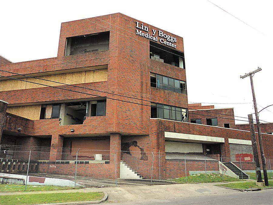 What is happening with the old Lindy Boggs Medical  Center building in Mid-City?_lowres