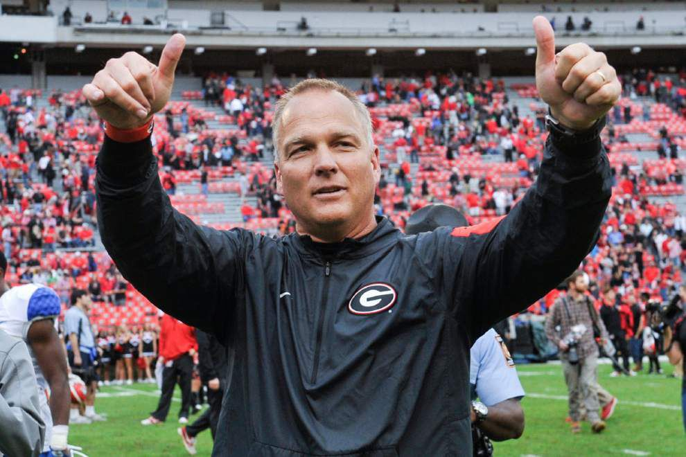 Mark Richt is poised to take over at Miami, and Kirby Smart is set to replace Richt at Georgia _lowres