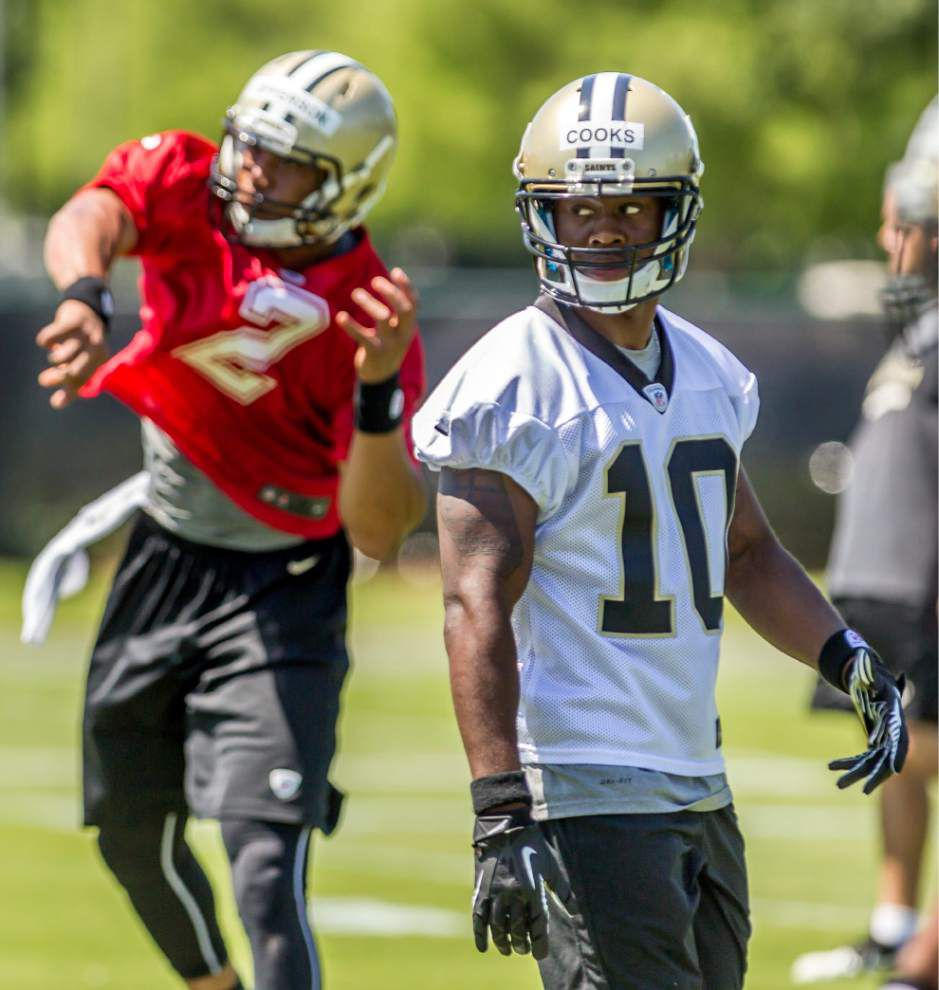 Brees, Stills have high hopes for Saints top pick Cooks _lowres