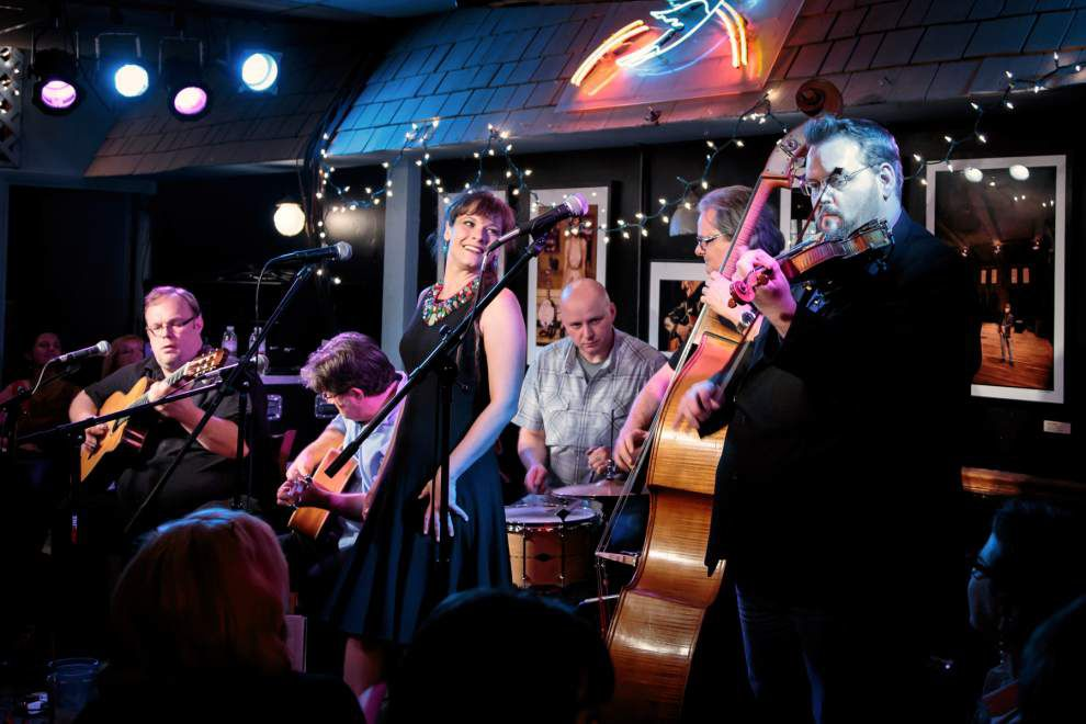 Group morphs from gypsy jazz to swing _lowres