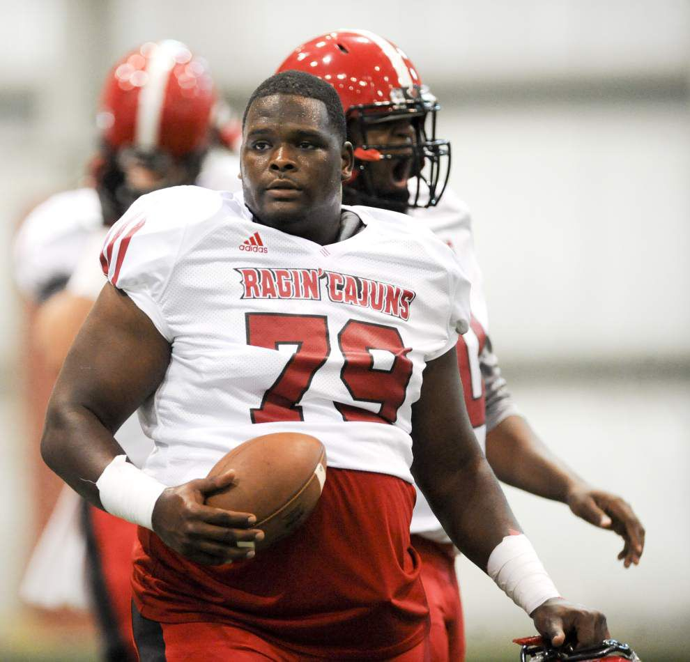 Cajuns continue to reshuffle offensive line _lowres