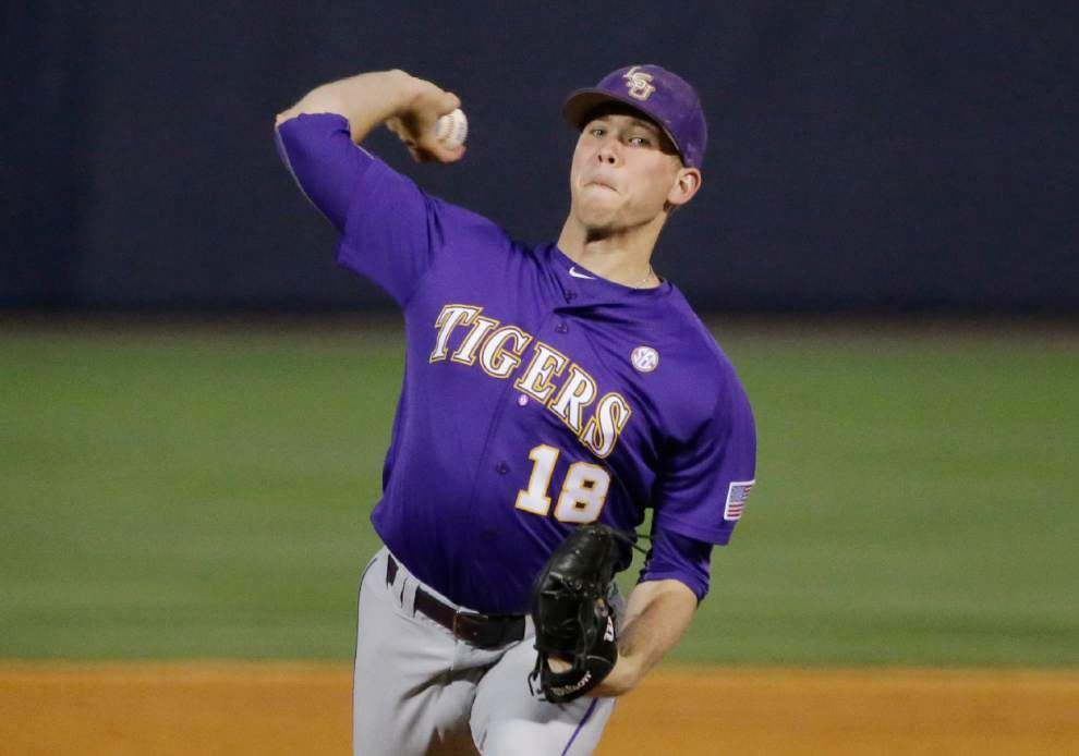 Friday's starter up in the air as LSU heads into Baton Rouge regional with a glaring issue - a No. 3 starting pitcher _lowres
