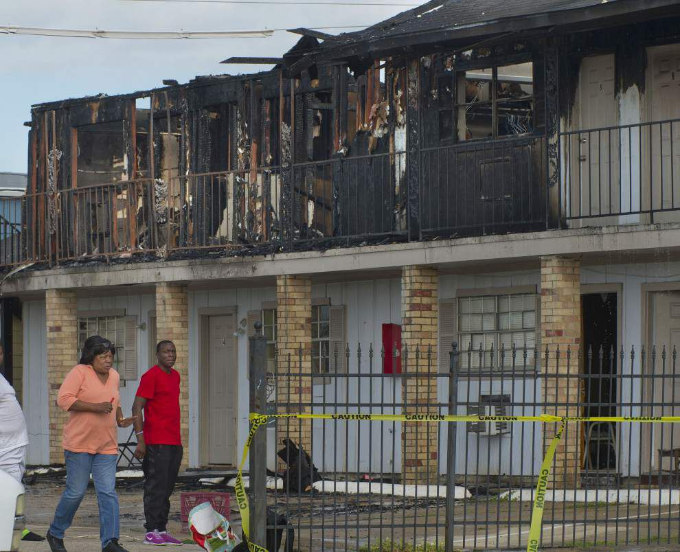 Three overnight fires result in death of one woman, another person injured _lowres