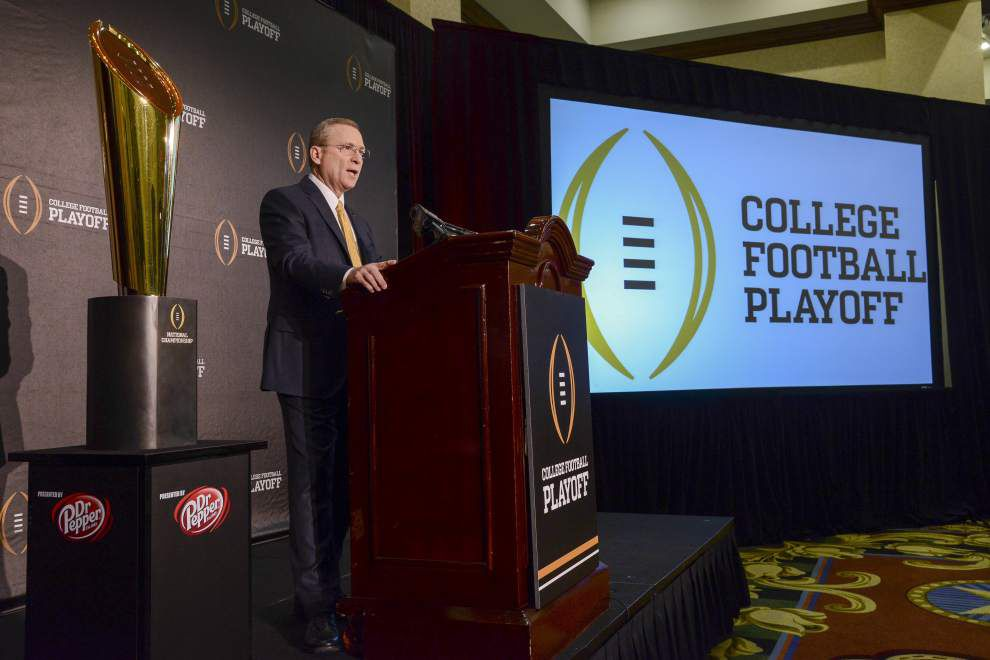 College Football Playoff: The debate now shifts to eight _lowres