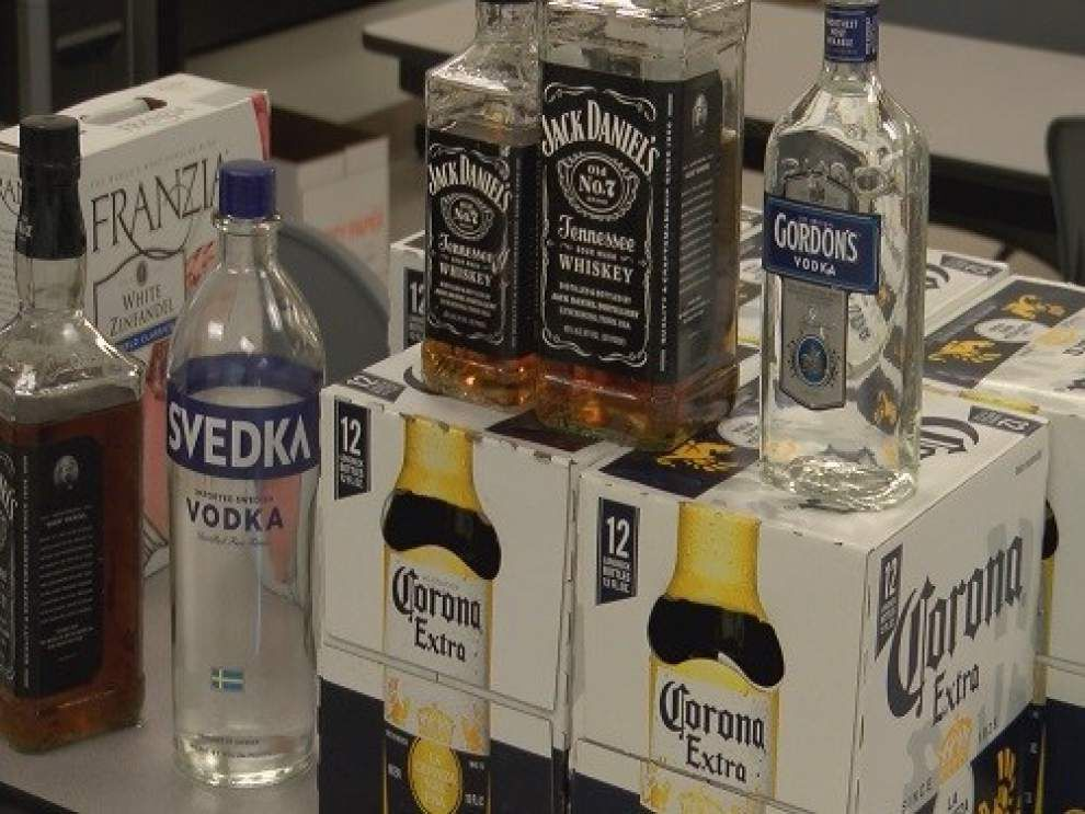 April 2015: Underage LSU students busted in Alabama, accused of towing 1,800-plus cans of beer, liquor to Gulf Shores for spring break _lowres
