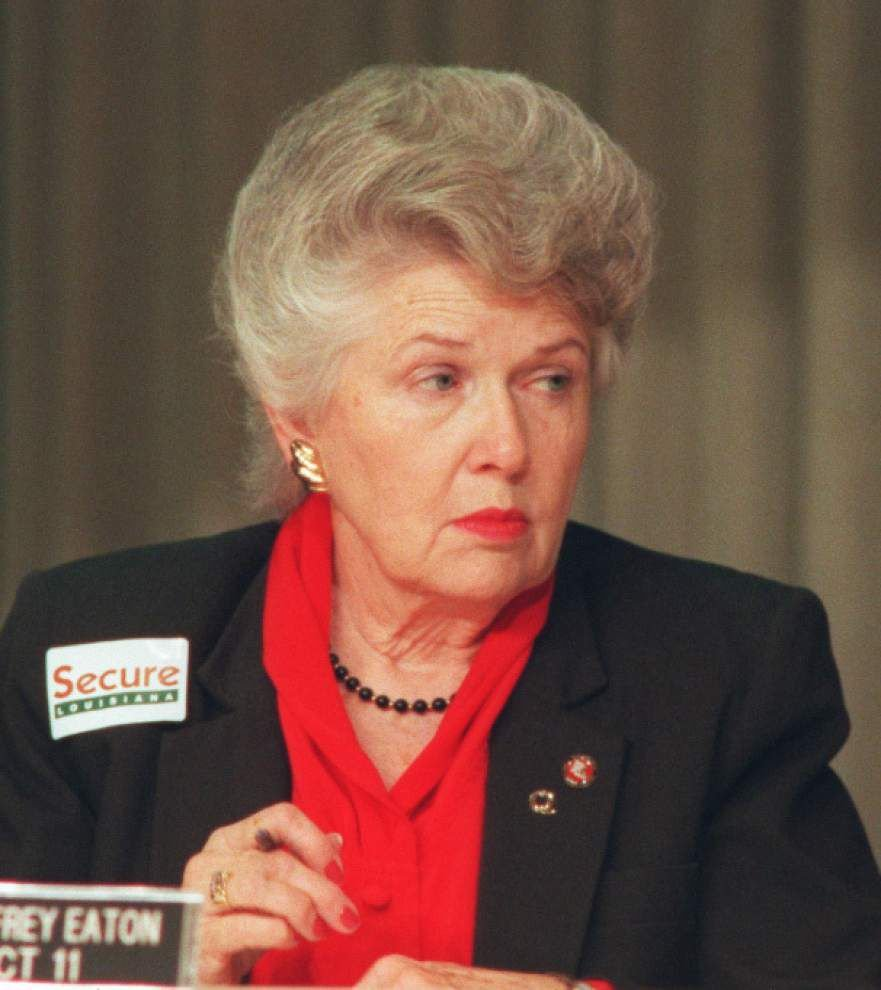Mary Frey Eaton, a force in Baton Rouge civic life, culture and politics, dies at age 91 _lowres