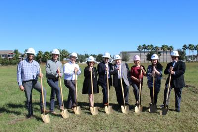 Geico Insurance Agent Holds Groundbreaking For New Development On