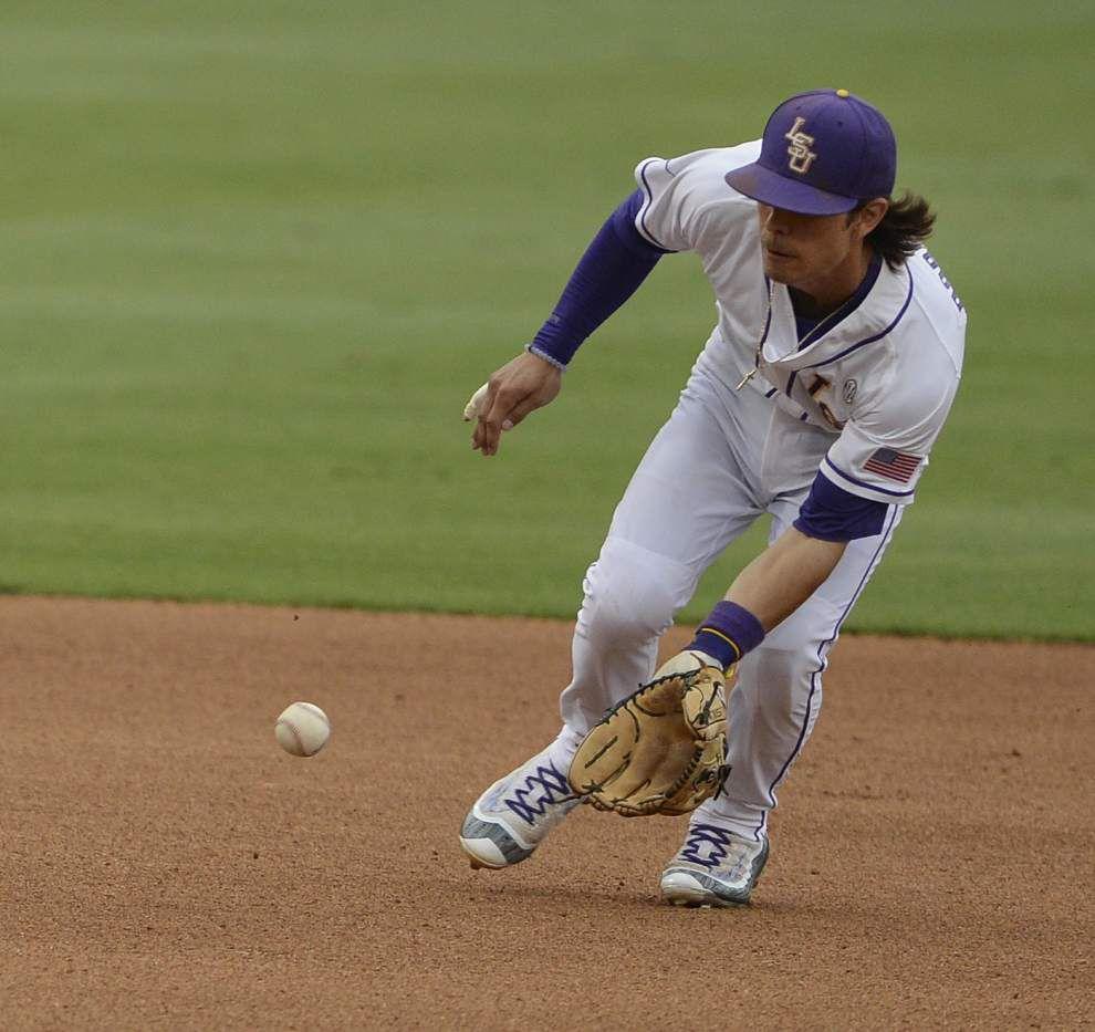 LSU's Kramer Robertson, Bryce Jordan named first team All-SEC baseball team _lowres