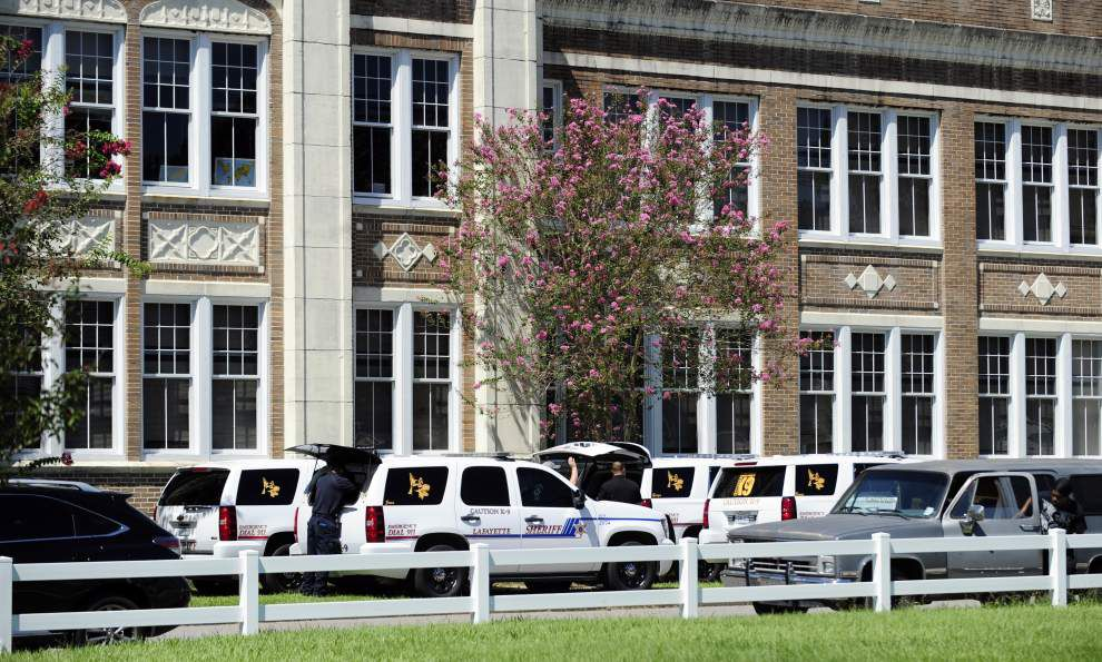 Authorities arrest student in bomb threat at Lafayette Middle School _lowres