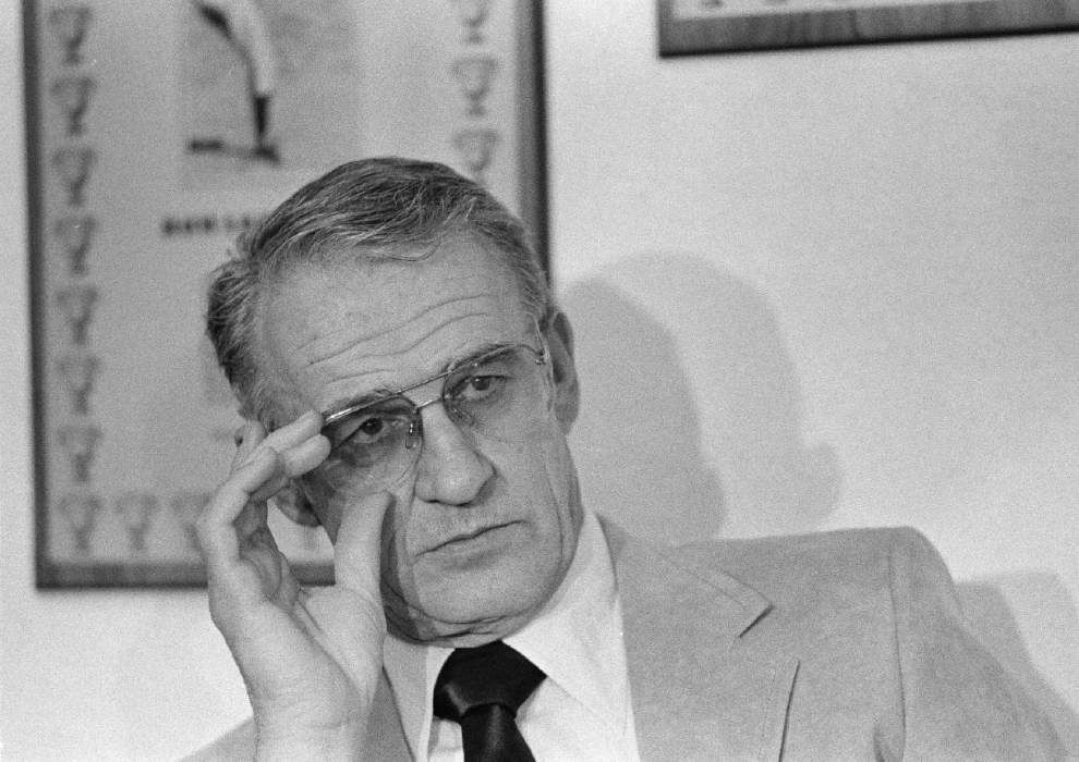 Former Saints coach Dick Stanfel, who directed team through final four games of 1980 season, dies at age 87 _lowres