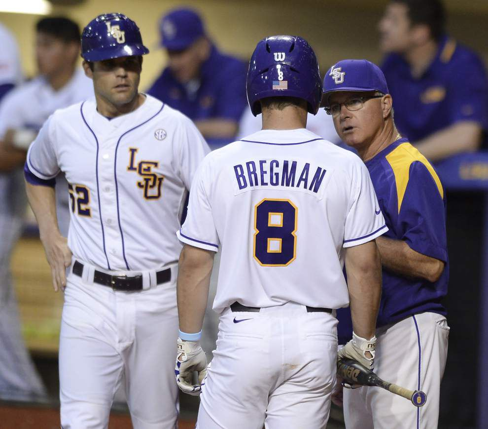 LSU notes: Alex Bregman comfortable with move to No. 3 hole _lowres