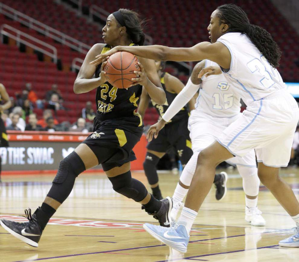 Alabama State routs Southern women 73-55 _lowres