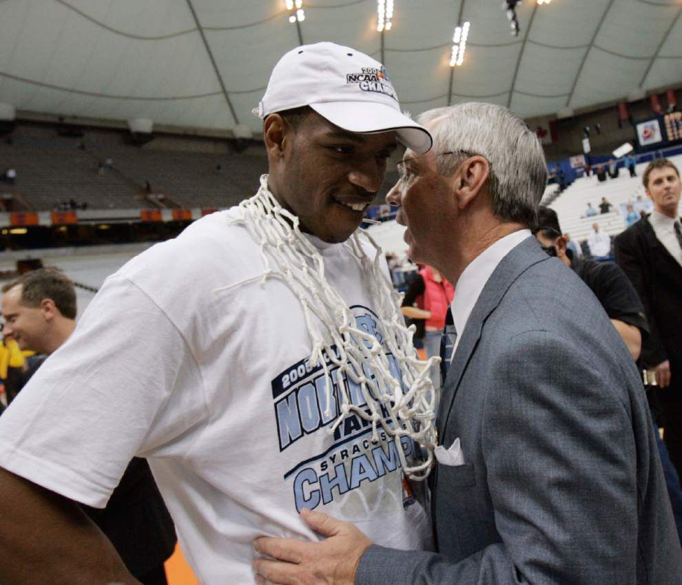 Roy Williams denies Rashad McCants' UNC academic allegations _lowres