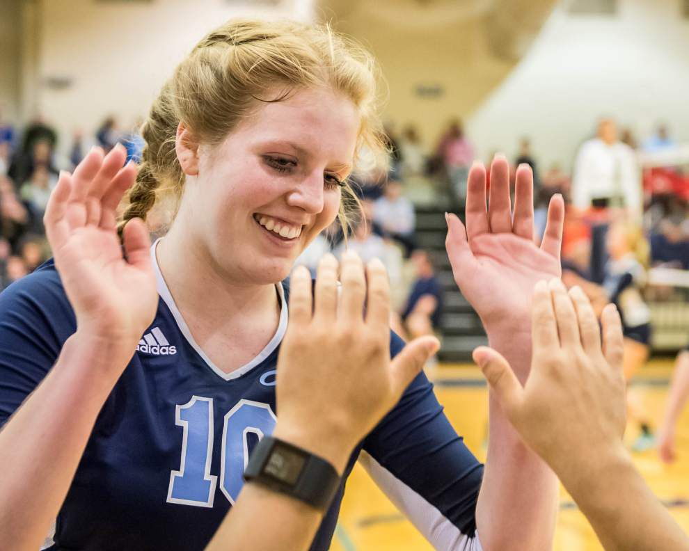 LHSAA state volleyball tournament capsules _lowres