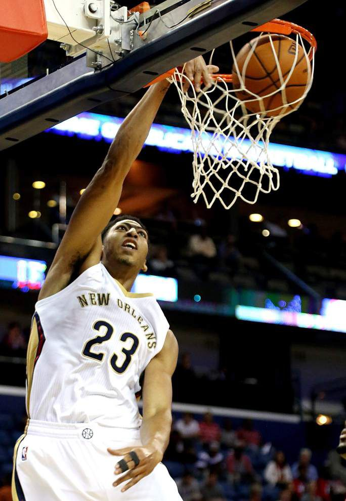 Face of the franchise: The Pelicans' Anthony Davis keeps rising _lowres