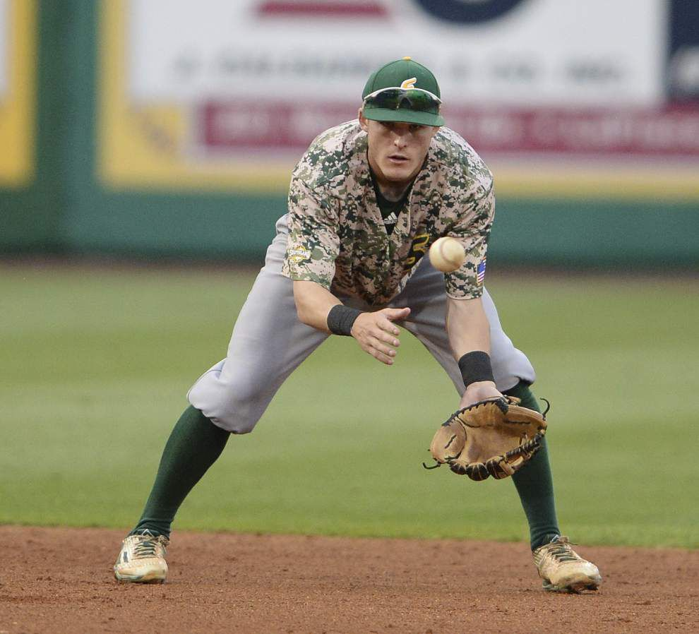 Southeastern Louisiana freshman shortstop Brennan Breaud has found a home in the starting lineup _lowres
