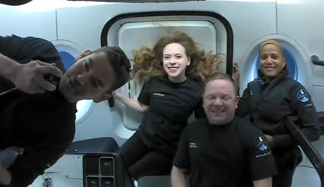 Arceneaux, Inspiration4 set for Saturday afternoon splashdown after historic space mission