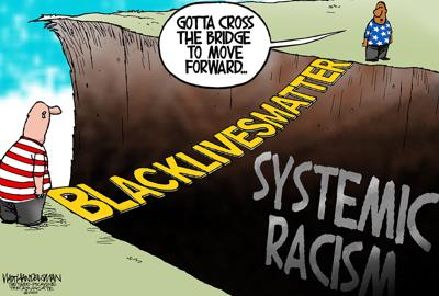 Walt Handelsman: Black Lives Matter