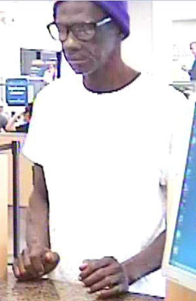 Arrest made in College Drive bank robbery _lowres