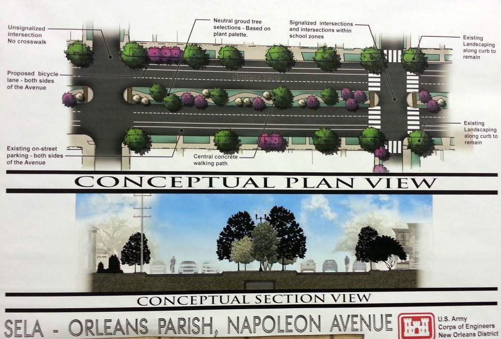 Plans to shrink Napoleon Avenue neutral ground for bike lanes have Uptown abuzz _lowres