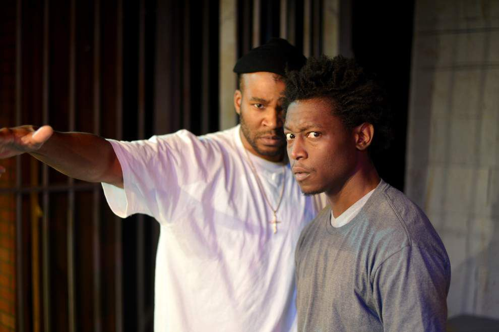 Jailhouse drama 'Jungle Kings' at Anthony Bean Theater seeks hope amid despair _lowres