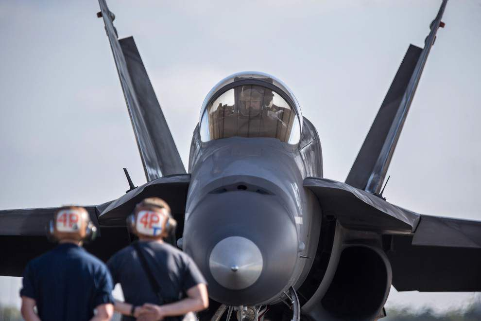 Local officials pushing to get new jets for Navy strike fighter squadron in Belle Chasse _lowres