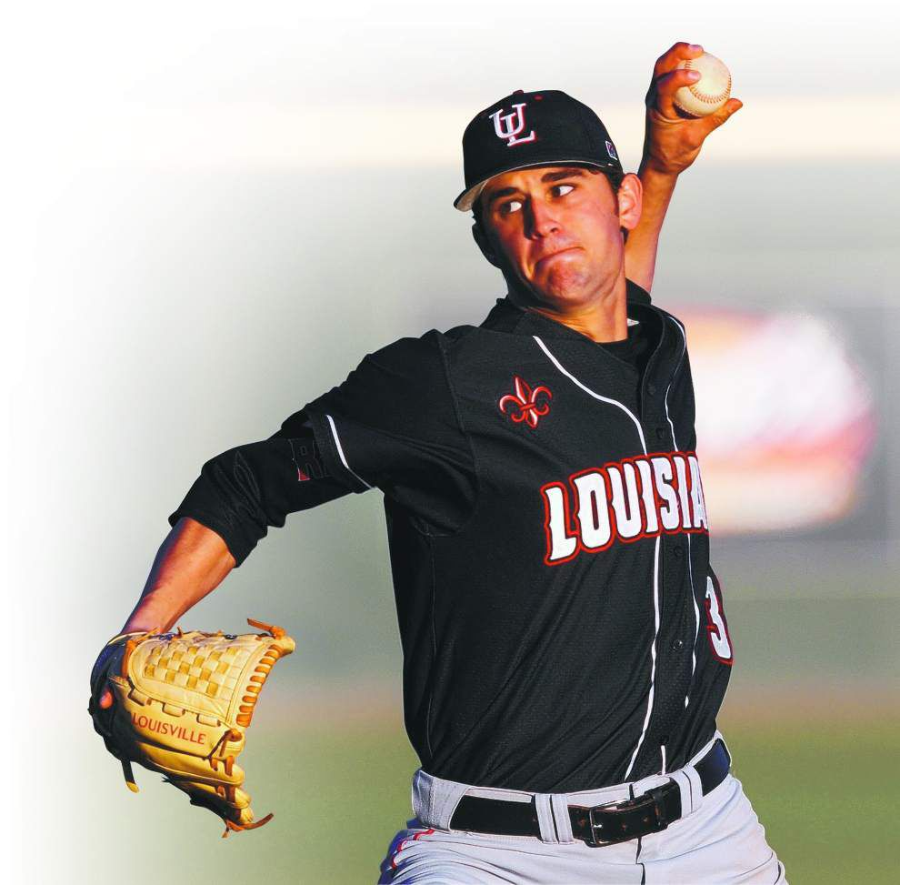 Cajuns freshman lefty Gunner Leger is off to a strong start _lowres