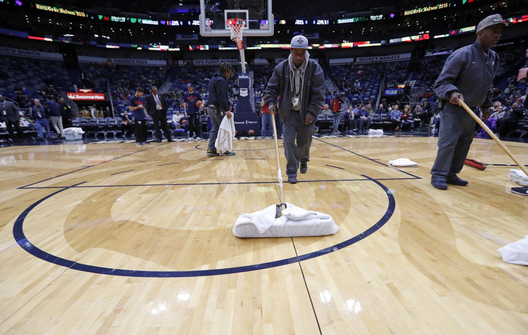 Pelicans roof leak