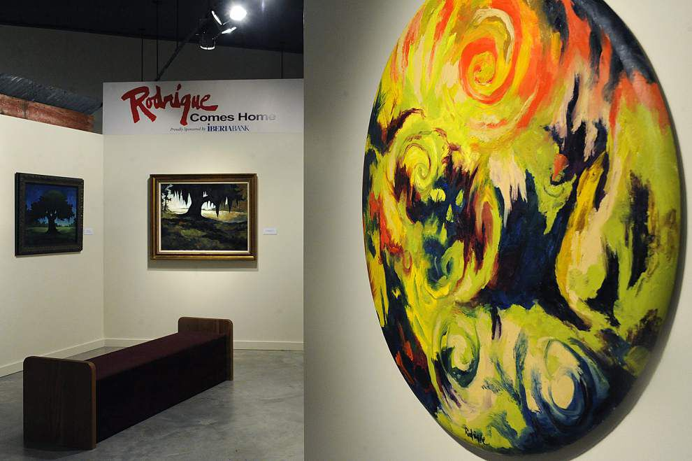 Acadiana museum features retrospective of 'Blue Dog' artist's work _lowres