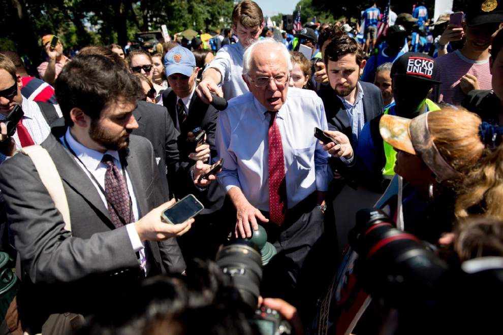Bernie Sanders to appear at several events this weekend in Louisiana _lowres