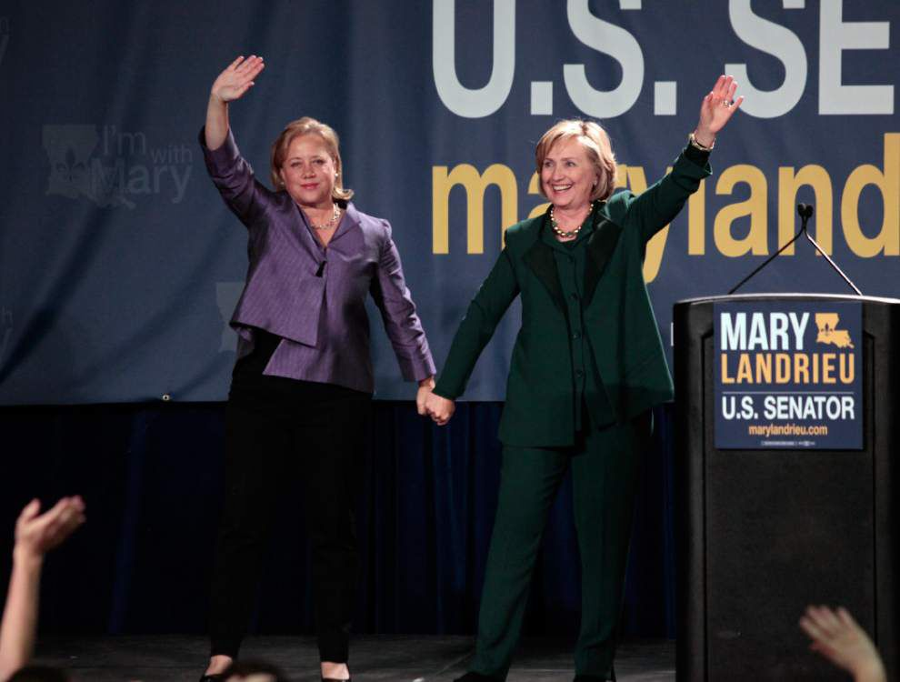 Hillary Clinton: Vote hopes, not fears in Tuesday's Senate election _lowres